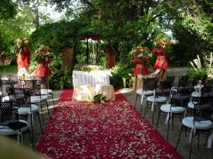 Decoraciones de bodas rom nticas emotiva eventos bodas for Bodas en el jardin botanico de rio piedras