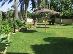 Jardín principal.