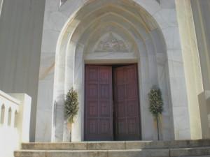 Columnas entrada Iglesia