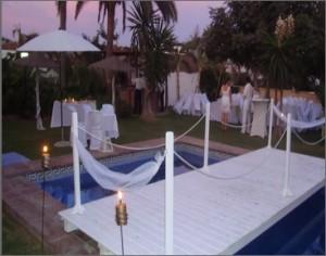 Cortijo Laguna Chico, uno de los espacios comercializados por Emotiva Eventos y Celebraciones para bodas en Málaga.